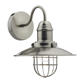 Terrace Antique Chrome Wall Light
