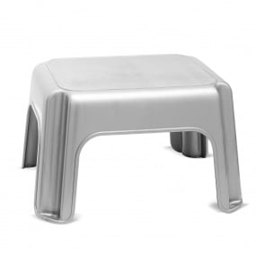 Addis Metallic Grey Step Stool