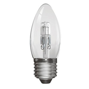 Crompton Halogen 18W ES E27 Clear Candle Light Bulb