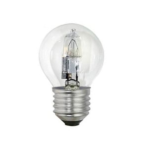Crompton Halogen Clear Golf Ball ES E27 42W Light Bulb
