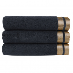 Christy Mode Flint & Gold Hand Towel