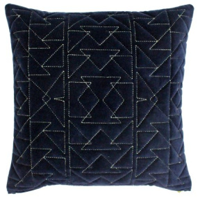 Riva Paoletti Aztec Navy Cushion Cover