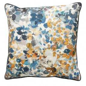 Scatter Box Amber Blue & Ochre Cushion