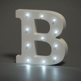 Light Up Letter - B