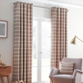 Belfield Rio Spice 66x72 Curtains