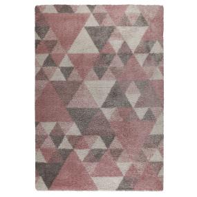 Dakari Nuru Pink And Cream Rug 160x230cm   Housing Units