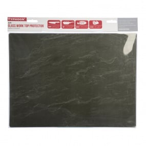 Typhoon Medium Slate Pattern Glass Worktop Saver