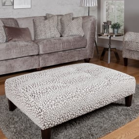 Bowden Valencia Spot Accent Footstool