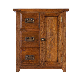 Axbridge Mango Wood Hallway Cupboard