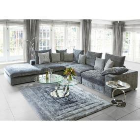 Verge Ridge Black & Grey 120cm x 170cm Rug   Housing Units