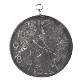 Grey Marble Effect Wall Clock