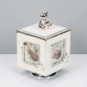 Bambino Silver Plated Music Box