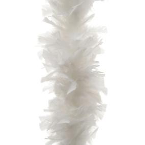 White Feather Boa Garland | Housing Units