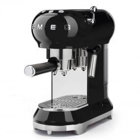Smeg 50's Retro Style Black Espresso Machine