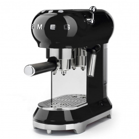 Smeg 50's Retro Style Black Espresso Machine