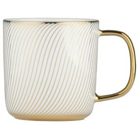 Swirl Gold Mug