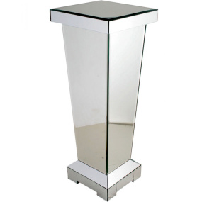 Classic 60cm Tapered Mirrored Pedestal