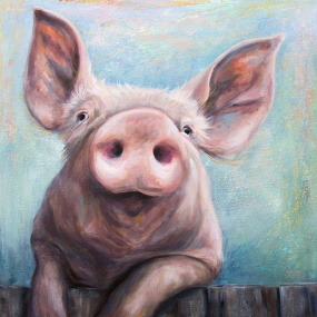 Perky Pig by Ruth Aslett
