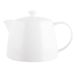 M By Mikasa Whiteware Ridged Teapot