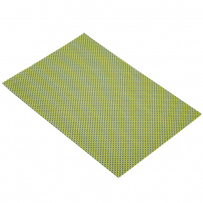 Green and Black Woven Placemat