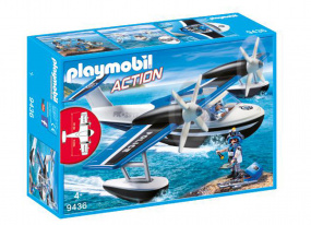 Playmobil Action Police Seaplane