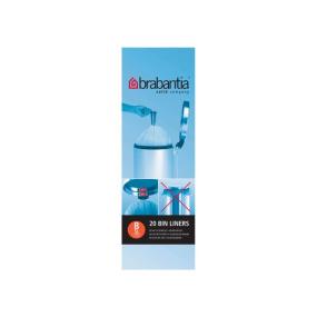 Brabantia 5 Litre Bin Liners - Size B