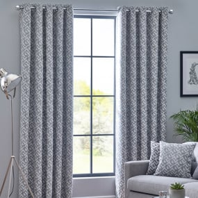 Belfield Byron Monochrome 66x72 Curtains