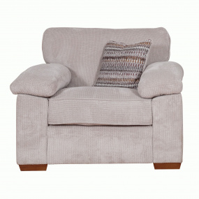 Alexander Stone Fabric Loveseat