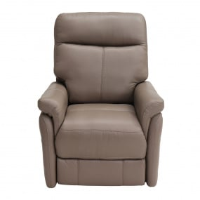 Hayward Electric Truffle Leather Rise & Tilt Recliner Chair