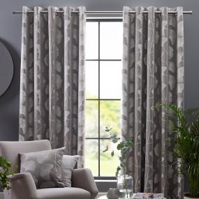 Belfield Ginko Steeple Grey 66x54 Curtains
