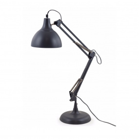 Traditional Matt Grey Desk Lamp