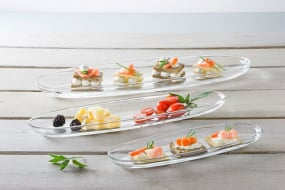 Gondola Set of 3 Tapas Plates