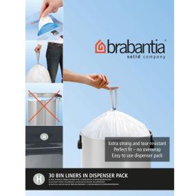 Brabantia Bin Liners 50 Litre - Size H