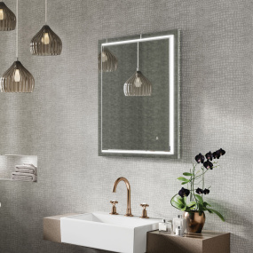 Spectre 50 LED Illuminated Bathroom Mirror