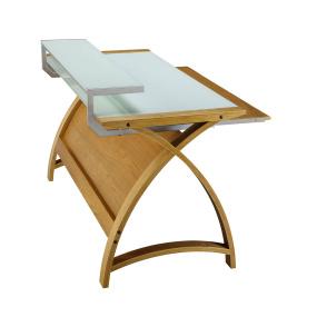Jual PC201 Curve Small Oak Desk
