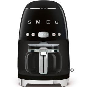 Smeg 50's Retro Style Black Coffee Machine | Housing Units