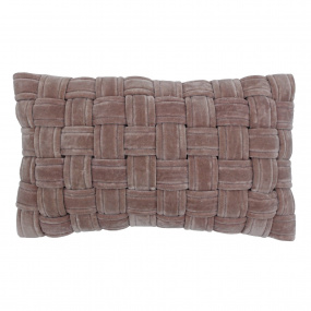 Riva Paoletti Kross Antique Blush Cushion