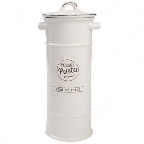 T&G Pride of Place White Pasta Jar