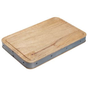 Industrial Kitchen Handmade Rectangular Wooden Butcher's Block