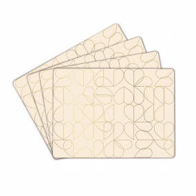 Beau & Elliot Set of 4 Oyster White Placemats