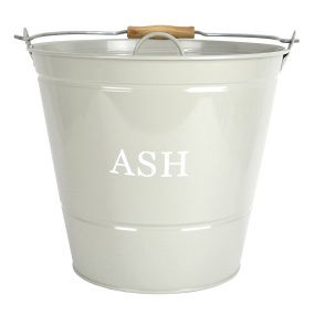 Olive Green Ash Bucket with Lid