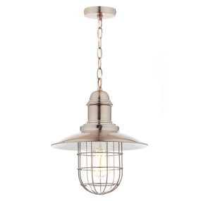 Terrace Copper Single Pendant Light