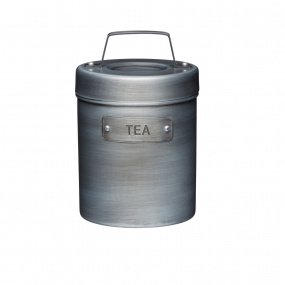 Industrial Kitchen Vintage Style Metal Tea Caddy