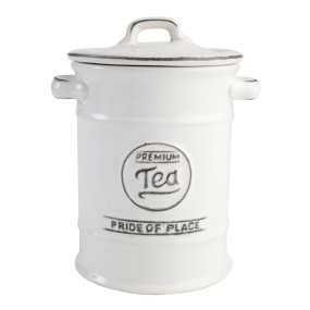 T&G Pride of Place White Tea Jar