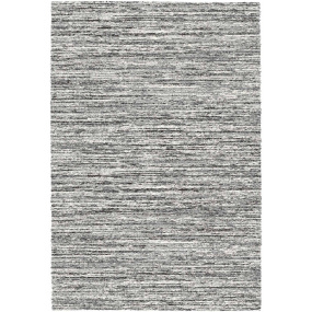 Mehari Grey and White 133cm x 195cm Rug