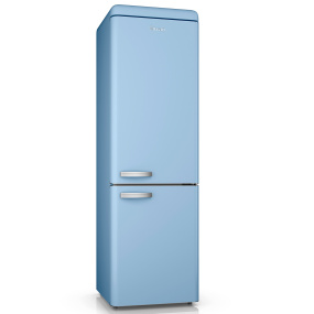 Swan Retro Blue 70/30 Fridge Freezer
