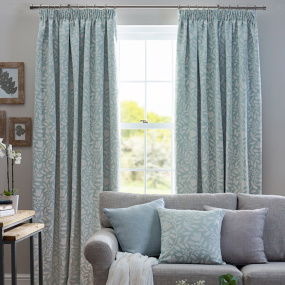 Belfield Elenor Aqua 90x90 Curtains