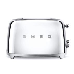 Smeg 50's Retro Style Silver 2 Slice Toaster