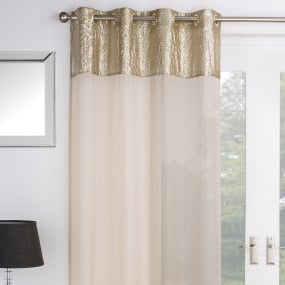 Empire Gold 52x90 Voile Panel