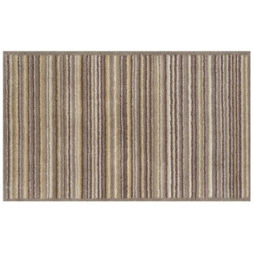 Turtle Mat Multi Grip Sandstone Stripe Runner